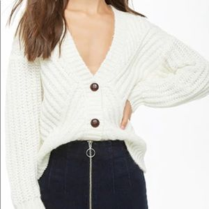 F21 | Oversized Knit Caradigan
